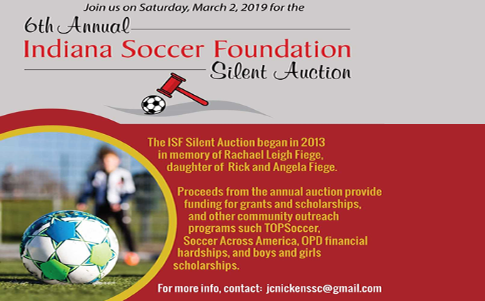 Join Us At The Indiana Soccer Foundation...