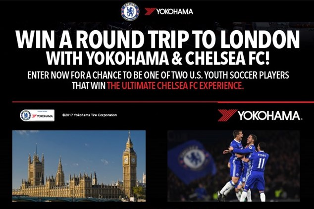 Win a Round Trip to London with Yokohama &...