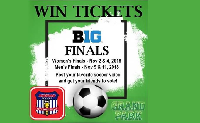 Win Tickets To The Big Ten College Soccer Games