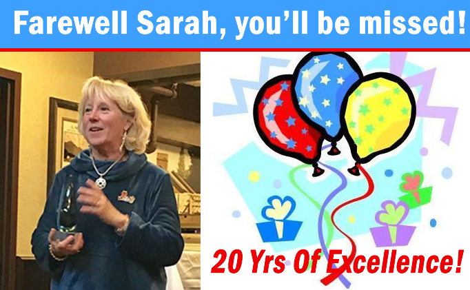 Sarah Cantwell Retires After 20 Years Of...
