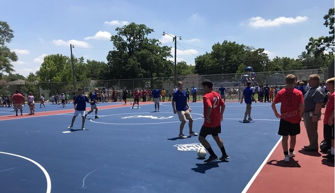 Fort Wayne Opens Two Futsal Courts in...