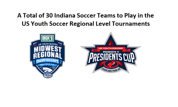 Indiana Soccer Teams to Play in the US Youth...