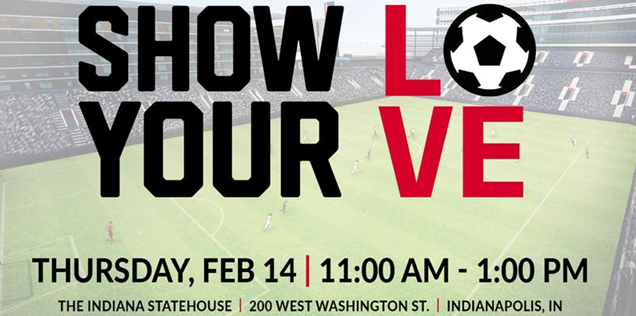 Show your LOVE for Soccer at the Statehouse