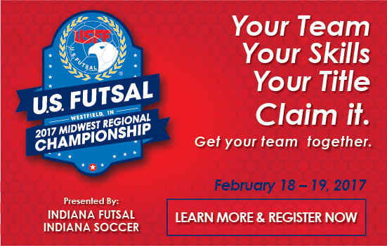 Register for the 2017 Futsal Midwest...