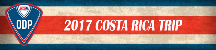 2017 ODP Costa Rica Banner