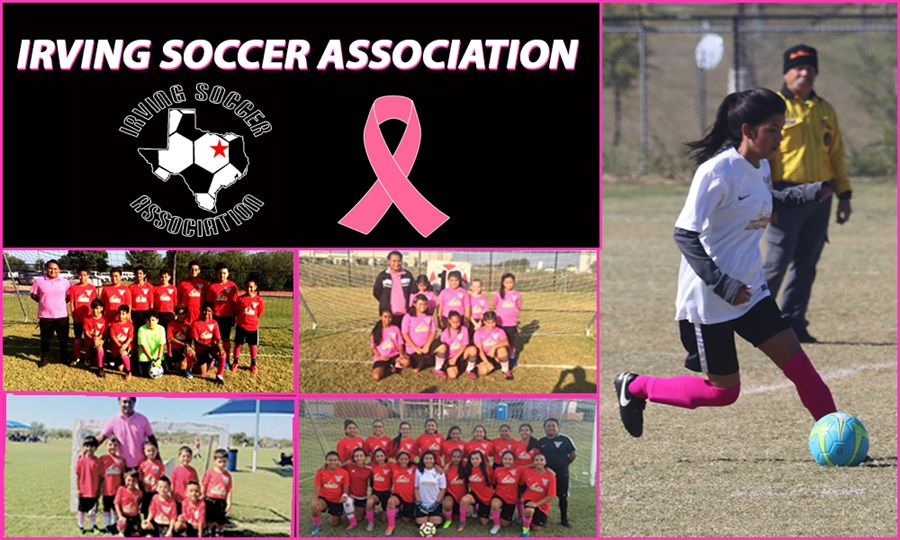 NTX United FC Breast Cancers Awareness The Pitch