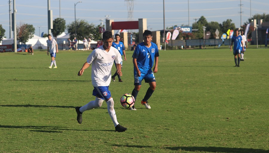 U17B FC Dallas Game