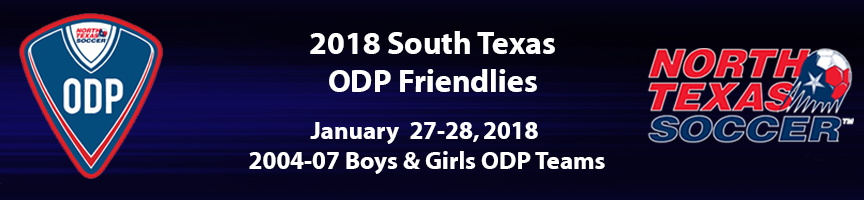 STX ODP Friendlies Header