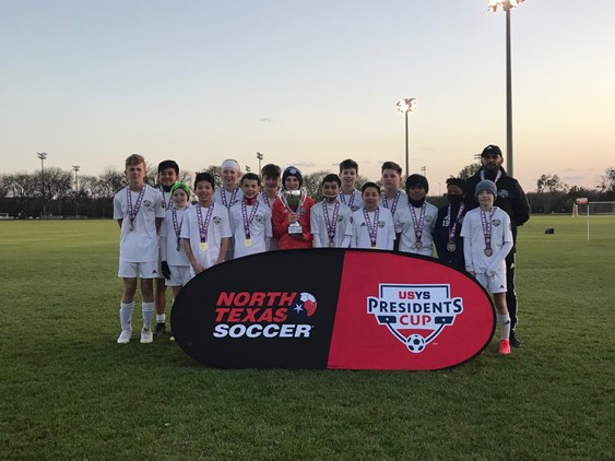 2021 North Texas Soccer Presidents Cup Results