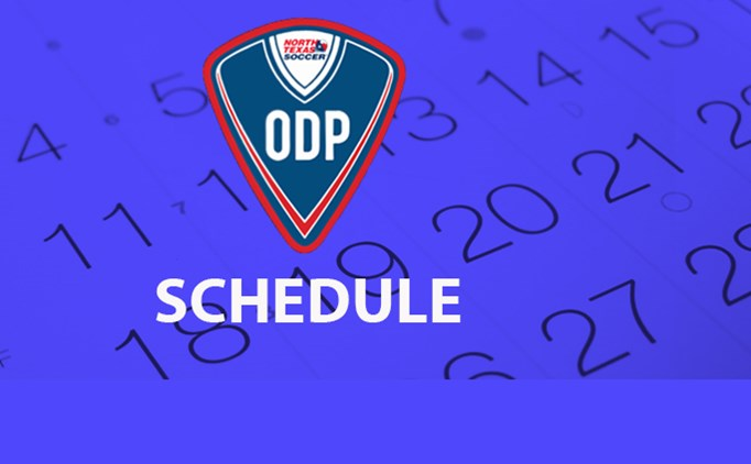 2017 Fall ODP Schedule