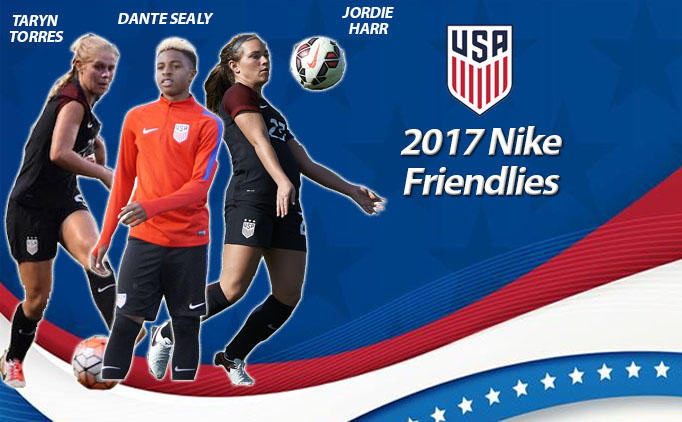 NTX trio represent USA at 2017 Nike Friendlies