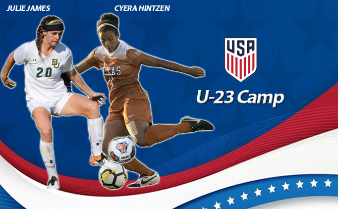 NTX duo named to U-23 USWNT Camp