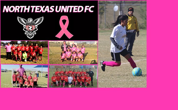 Rec teams wear pink for Breast Cancer Awareness
