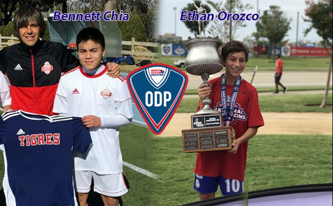 North Texas ODP players train overseas