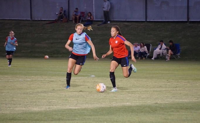 Five North Texas Players Wrap up U-15 USWNT Camp