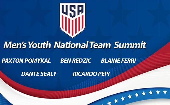 Five NTX Players called into US YNT Summit