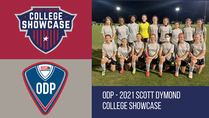 North Texas ODP - Scott Dymond College Showcase