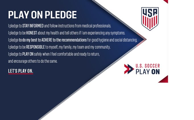 U.S. Soccer PLAY ON Guidelines