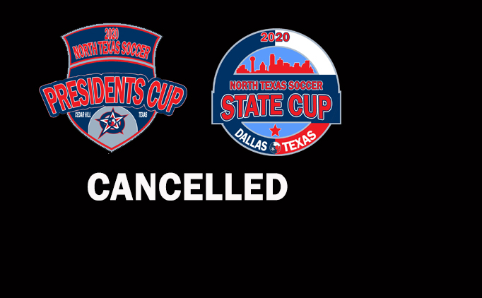 Presidents Cup, State Cup are cancelled.