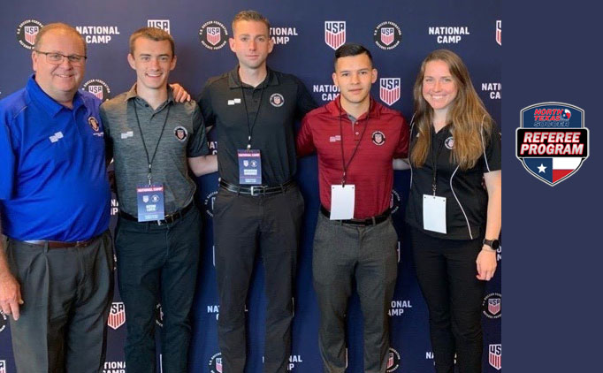 Two NTX Referees Earn National Badge
